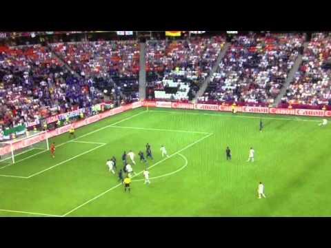 Euro 2012: England vs. France