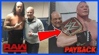 WWE BREAKING NEWS: WHAT