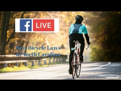 New Bicycle Laws in North Carolina | David Daggett