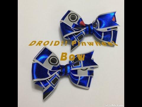 Droid Pinwheel Bow Start to Finish!!