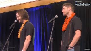 Jared e Jensen - Polêmicas no Fandom (HonCon 2017) Legendado