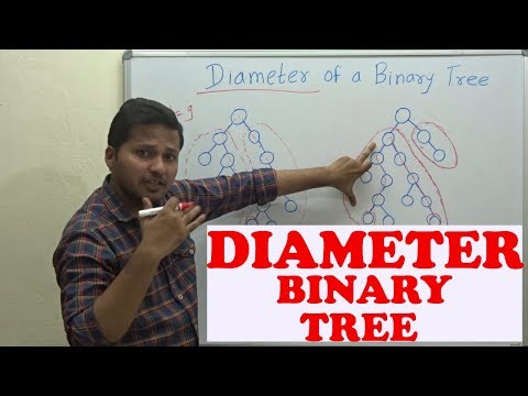 Diameter of a Binary Tree (Code/ Algorithm)