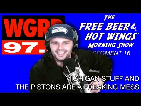Michigan Unemployment Fraud and the Pistons are in Trouble - FBHW Segment 16