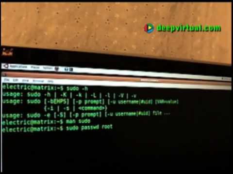 Root Account Enabling - Ubuntu Desktop 9.04 - Ubuntu Perl Enterprise - Set Root Password / Sudo