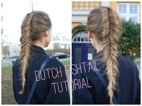 How to do The Dutch/Inverted fishtail - HairAndNailsInspiration