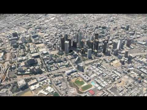 New 3D imagery of Los Angeles in Google Earth 7