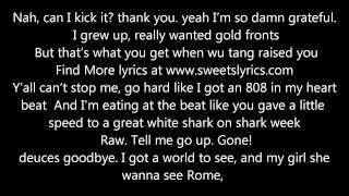 Macklemore - Can't hold us Lyrics