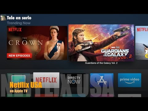 Netflix US en Apple TV