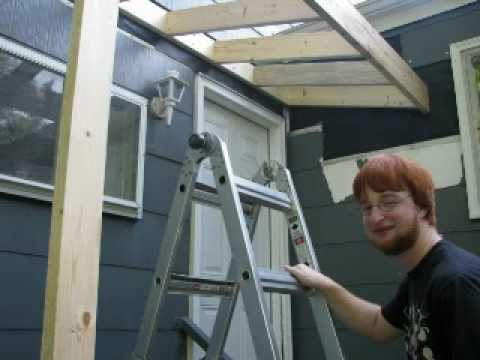 Building A Roof Over A Stoop