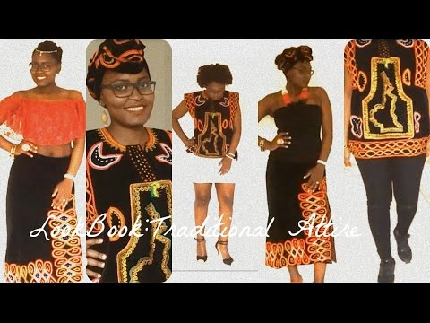 LOOKBOOK: AFRICAN PRINT/BAMENDA TRADITIONAL ATTIRE
