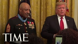 Retired Marine, Who Fought In Vietnam, Receives The Medal Of Honor | TIME