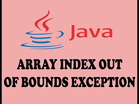 HANDLING ARRAY INDEX OUT OF BOUNDS EXCEPTION IN JAVA (URDU / HINDI)
