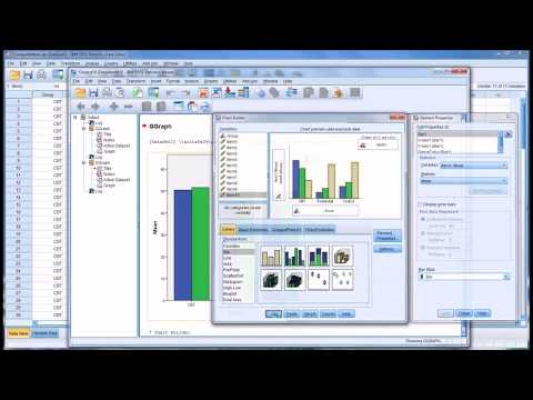 Creating Bar Charts in SPSS