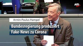 Armin Hampel zum Skandal um das Corona-Papier aus dem Innenministerium