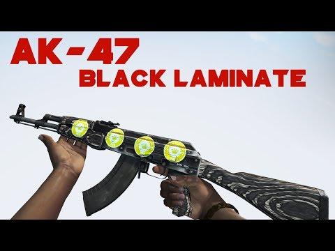 CS:GO / AK-47 | Black Laminate | Factory New Skin Showcase / 1440p60