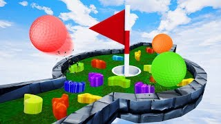 NEW IMPOSSIBLE MINI GOLF OBSTACLES! - Golf It