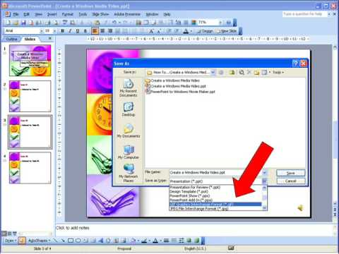 How To...Create a Windows Media Video Using PowerPoint and Windows Movie Maker