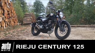 Rieju Century 125 : Le Scrambler Catalan ESSAI Auto-Moto.com
