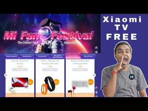 Xiaomi Mi Festival Sale - Buy Redmi Mobile and Get Free Xiaomi 32