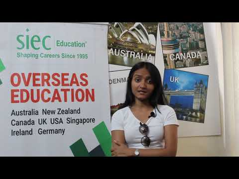 Student sharing her experience after getting Study Visa for Australia   Study in Australia