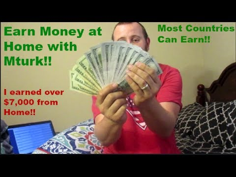 Mturk! I earned $7000 from home!  Survey Tips