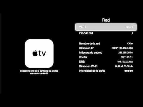 Configuración de DNS en AppleTV