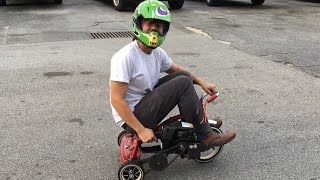 Georgia Tech Students BUILD Chainsaw Powered TRICYCLE!   What
