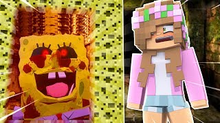 PORTAL TO SPONGEBOB.EXE ! Minecraft Little Kelly (Custom Mod Adventure)
