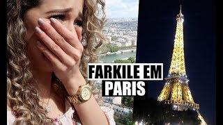 VLOG PARIS PART.1 - Torre Eiffel, choros, Jesus é lindo!!
