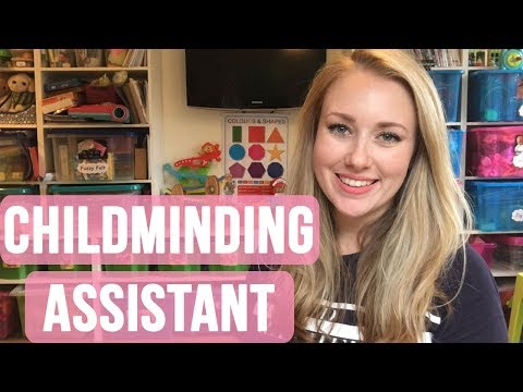 HOW TO HAVE AN ASSISTANT - CHILDMINDING ASSISTANT - CHILDCARE ASSISTANT - SELF EMPLOYED / EMPLOYED
