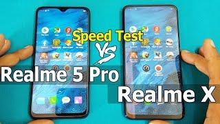 Realme 5 Pro vs Realme X Speed Test Comparition    Antutu Benchmark Scores    Best..?