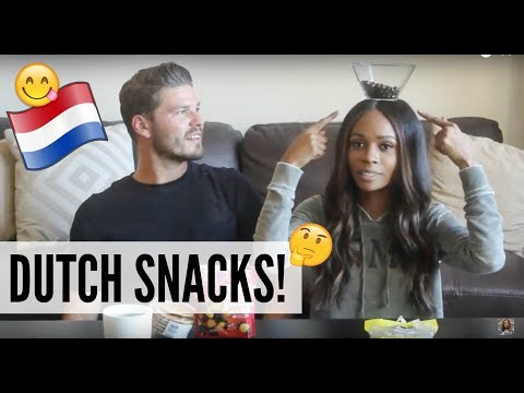 AMERICAN GIRL TRYING DUTCH SNACKS FOR THE FIRST TIME!