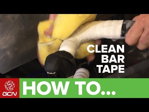How To Clean Bar Tape - Get Your Bars Looking Like New Again!