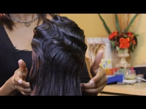How to Style a Finger Wave Hairstyle : Tips for Styling Hair