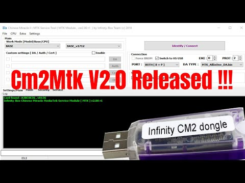 Infinity Cm2 Mtk V2.0 Secure Boot Error Problem Fix/Read/Write/Remove Frp
