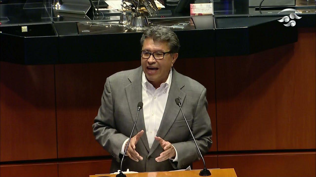 Rechazo cualquier expresión de corruptos: Sen. Ricardo Monreal (Morena)