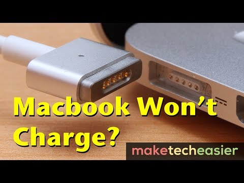 How to Fix a MacBook that Won't Charge