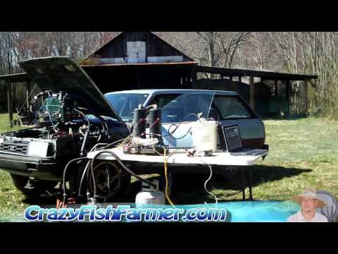 3 Can you really run a car on green water / green algae Part 3