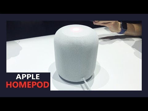 Apple HomePod -  First look at the Siri-powered speaker