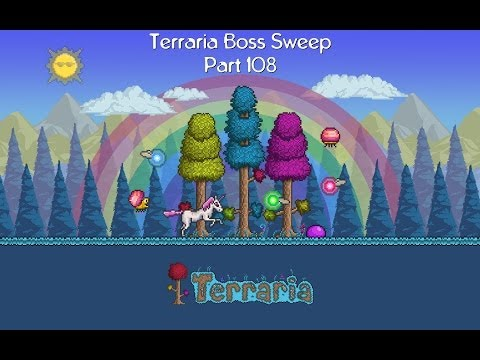 Terraria Boss Sweep - Part 108 - MORE JUNGLE SPORES