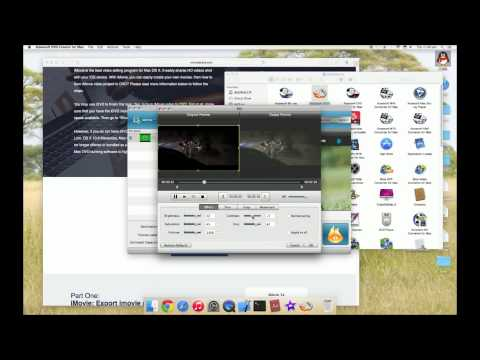 burn imovie to dvd and burn dvd to imovie without idvd