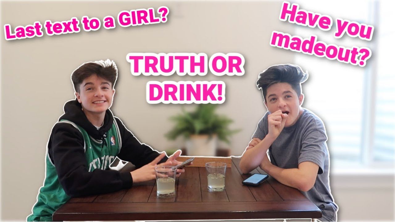Truth Or Drink | I Exposed My Twin Brother