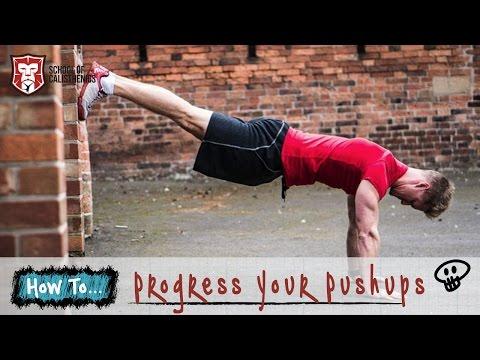 5 Ways To Progress Your Push Ups | School of Calisthenics