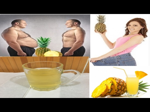 Pineapple Tea weight loss/Pineapple Weight Loss Drink /How to Lose Belly Fat in 1 Week