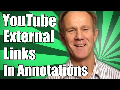 YouTube External Links In Annotations - How To Link Your Video To An External Website