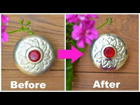 How To Clean Silver At Home NATURALLY Using Just 1 Ingredient !!!