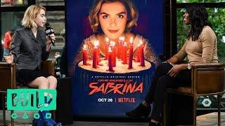Download Kiernan Shipka Discusses Netflix's ″Chilling Adventures of Sabrina″ Video