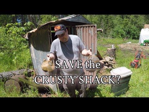CRUSTY OLD SHACK!!