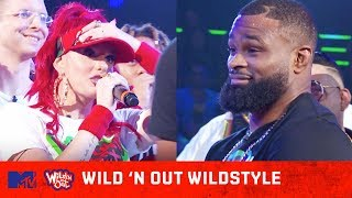Justina Valentine Risks It All For Tyron Woodley 😂🍑 | Wild 'N Out | #Wildstyle