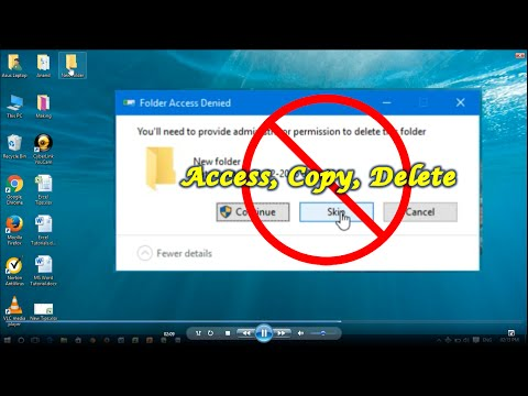 Prevent Folder from being Copied & Deleted - Windows 8 & 10